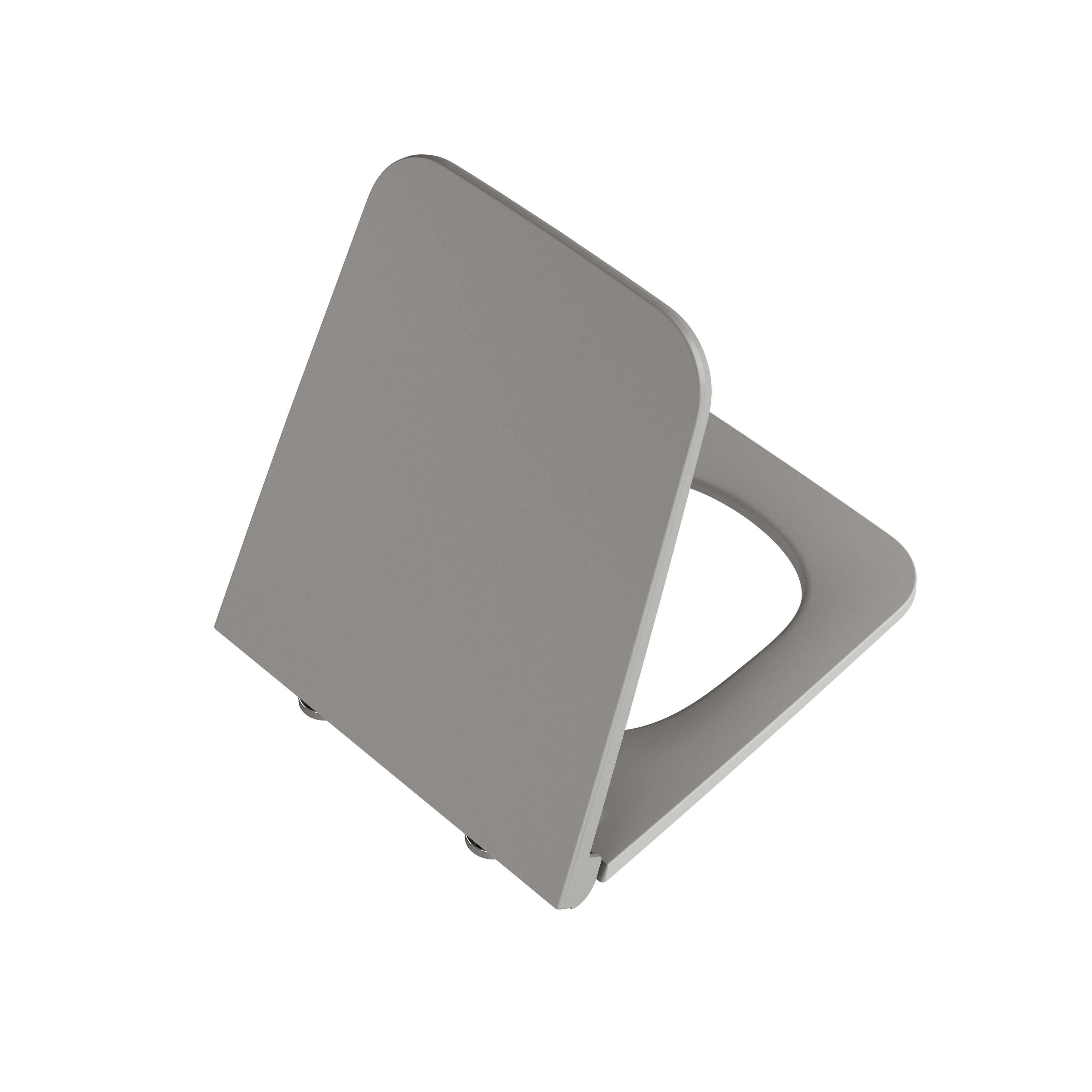 Equal abattant, gris pierre mat