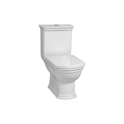 Valarte Keramischer Aufsatzspülkasten, passend zu WC # 4161, Weiß Hochglanz