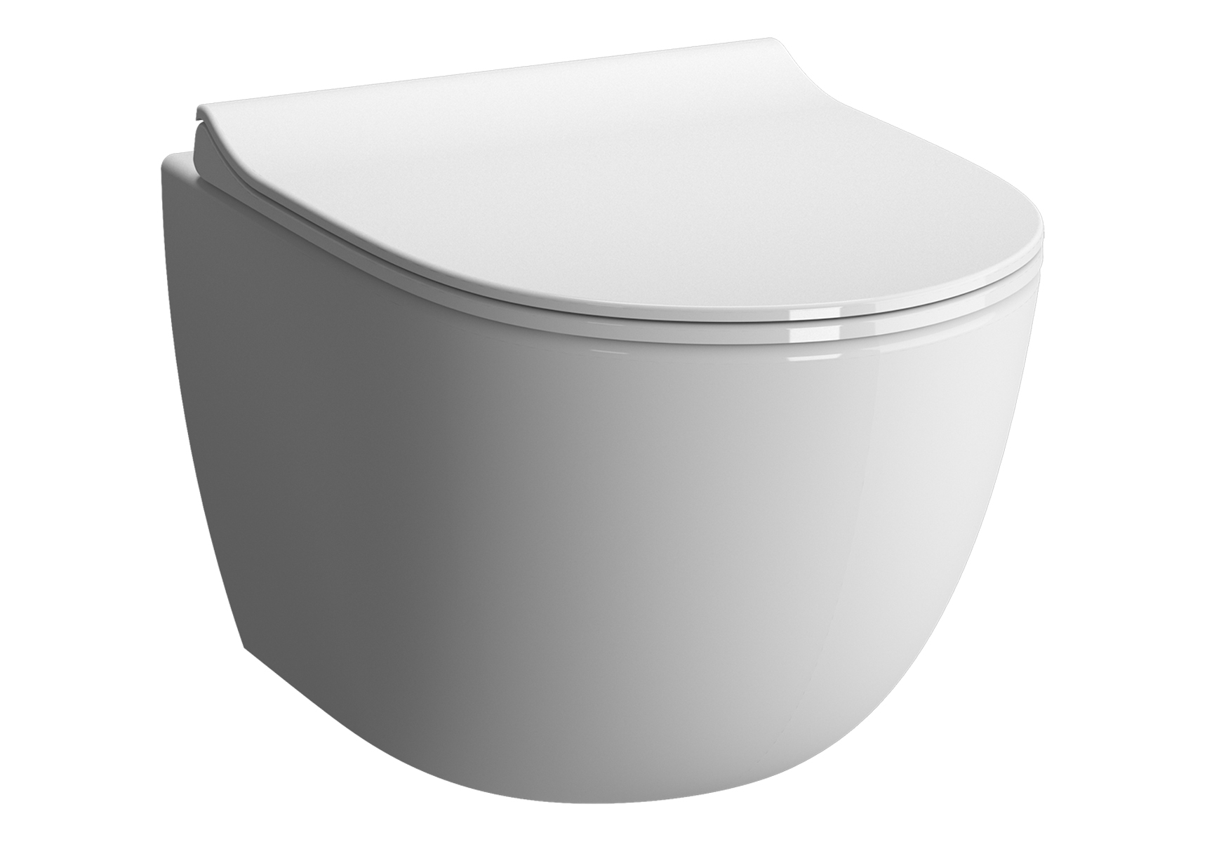 Sento Wand-WC Compact, Weiß