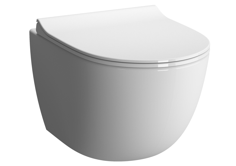 Sento Wand-WC Compact mit Bidetfunktion, Weiß mit VitrA Clean