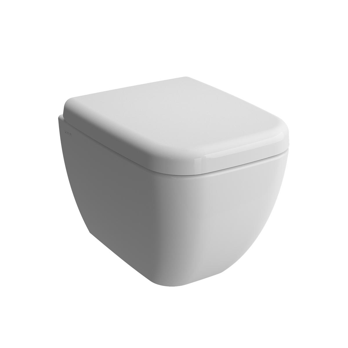 Shift Wand-WC Compact mit Bidetfunktion, Weiß