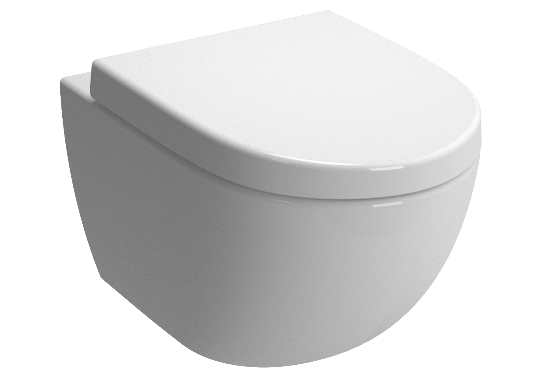 Sento Pack WC suspendu, 54 cm, abattant Duroplast (fermeture douce)