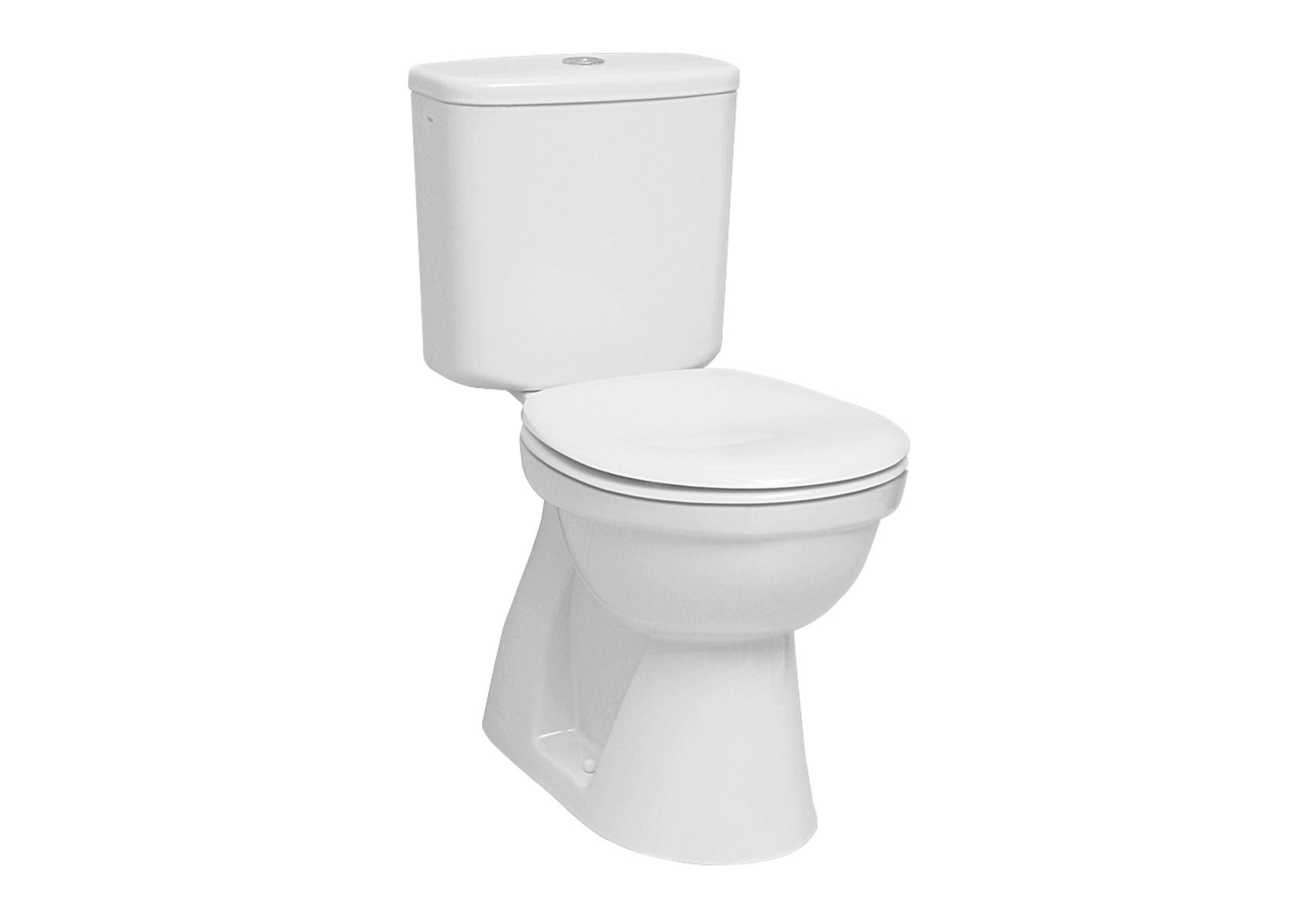 Normus WC à poser avec bride, 68,5 cm, S / V