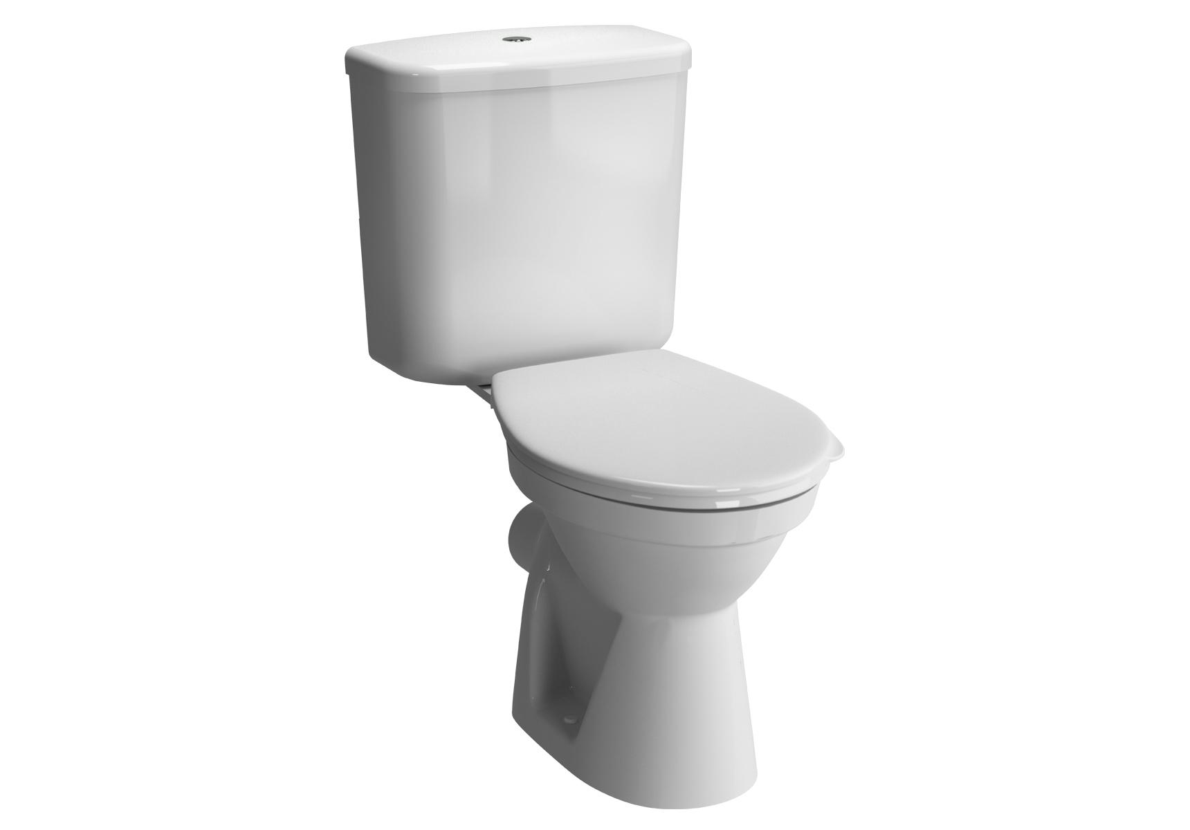 Normus WC à poser avec bride, 68 cm, S / H