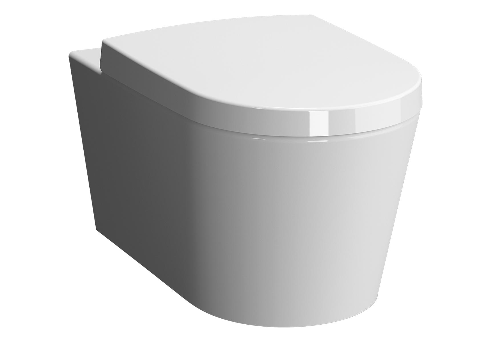 Options Nest Wand-WC VitrA Flush 2.0, mit Bidetfunktion