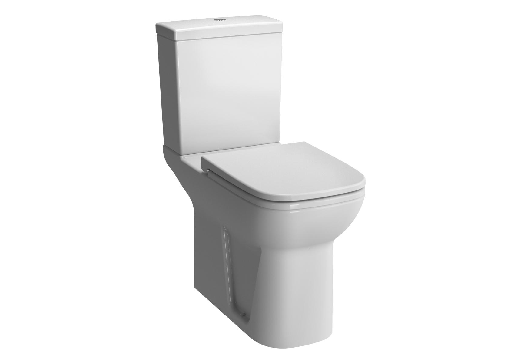 S20 WC à poser avec bride, caréné, avec 4 points d'ancrage, 75,9 cm, blanc