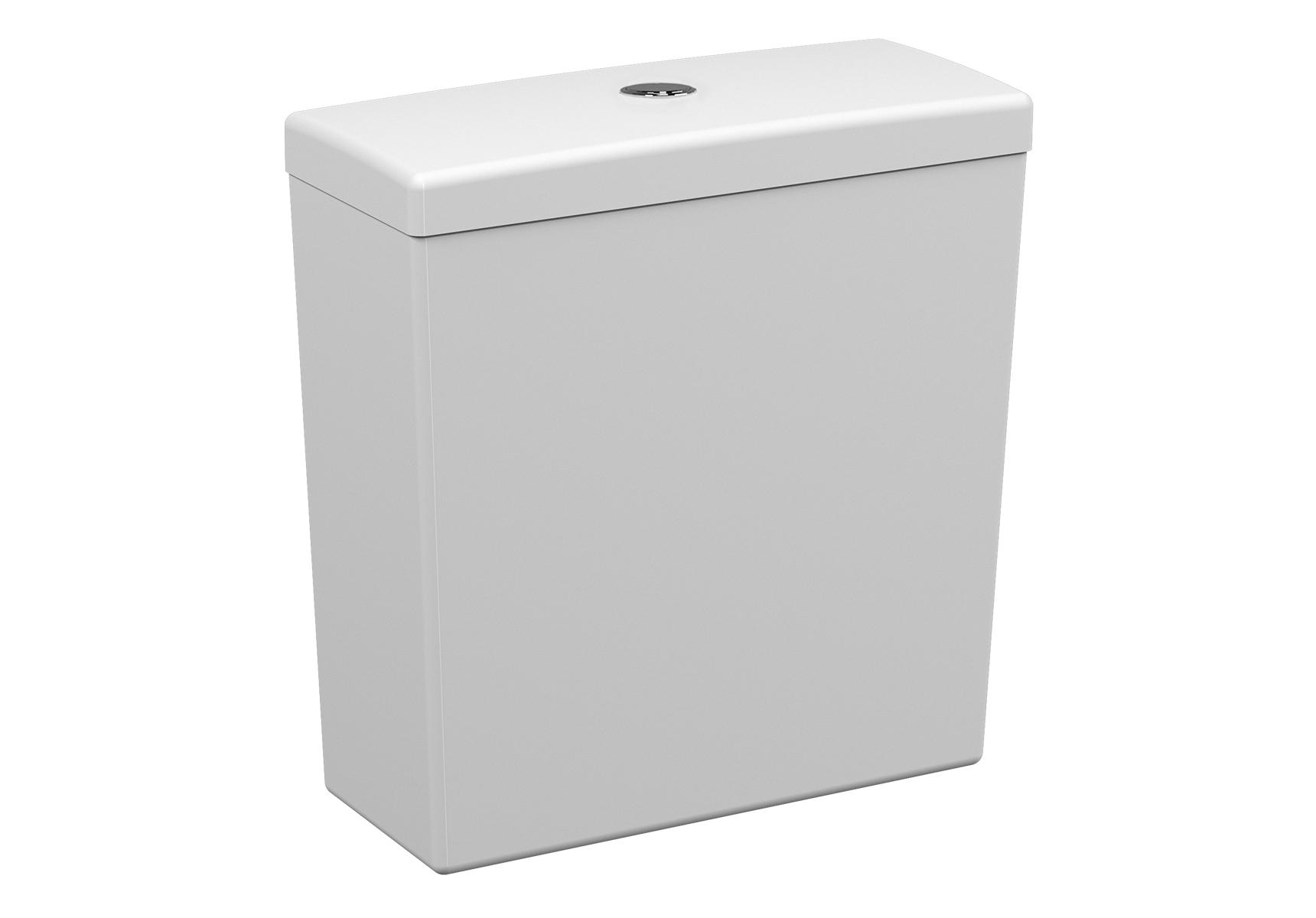 S50 réservoir de chasse d'eau en céramique, 2,5 l, 38,5 cm