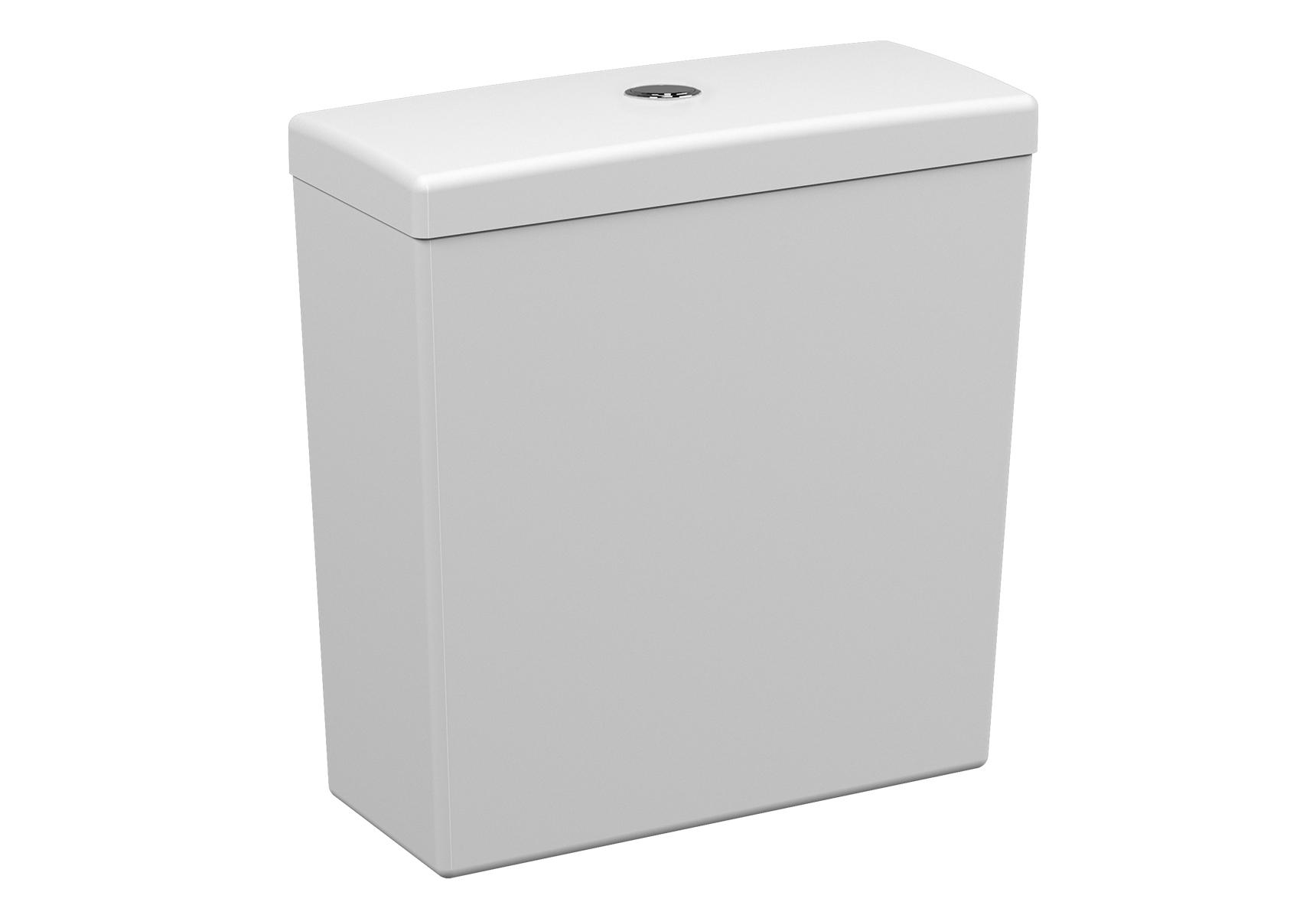 S50 réservoir de chasse d'eau en céramique, 3/6 l, 38,5 cm