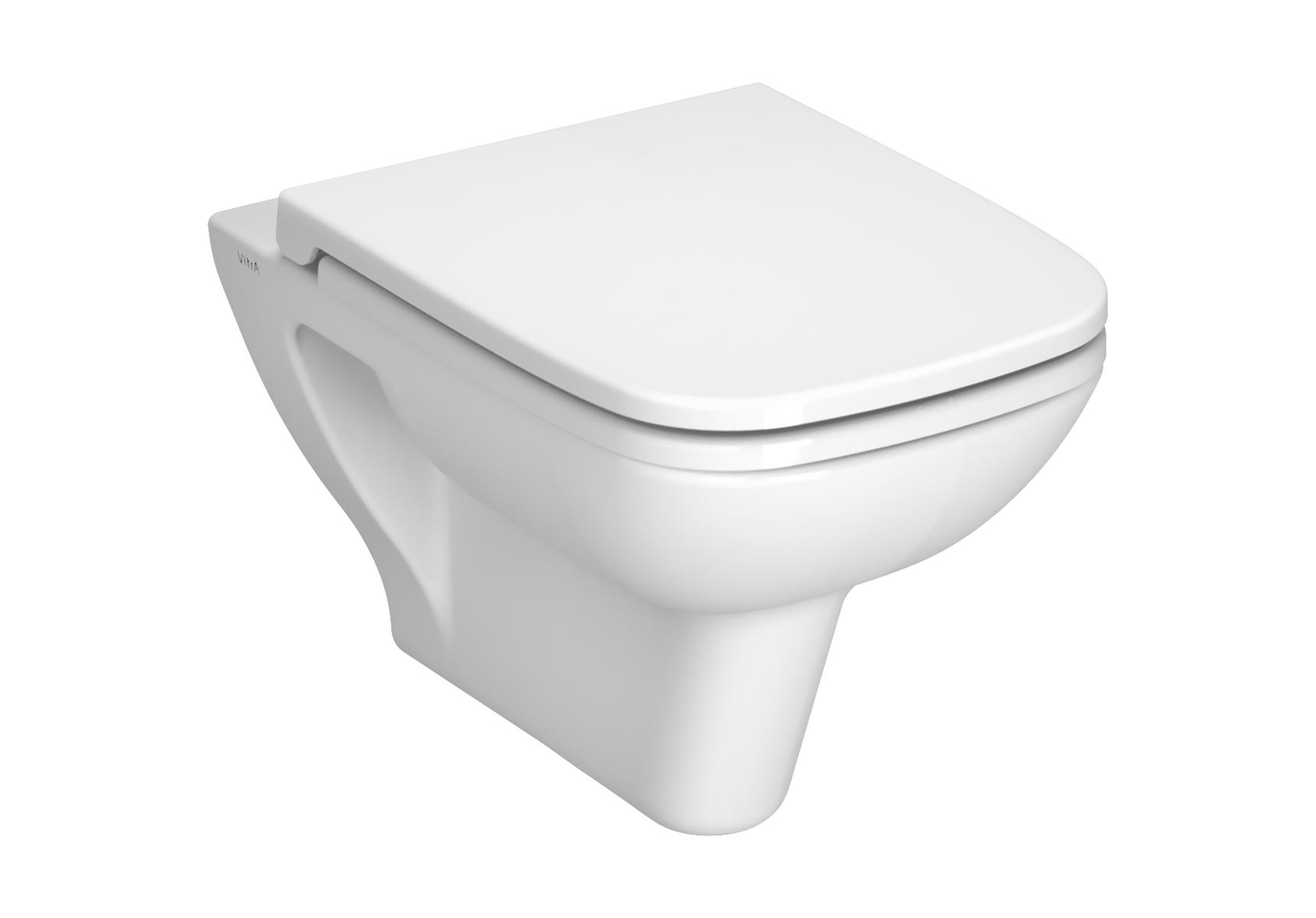 S20 Wand-WC Flachspüler, Weiß