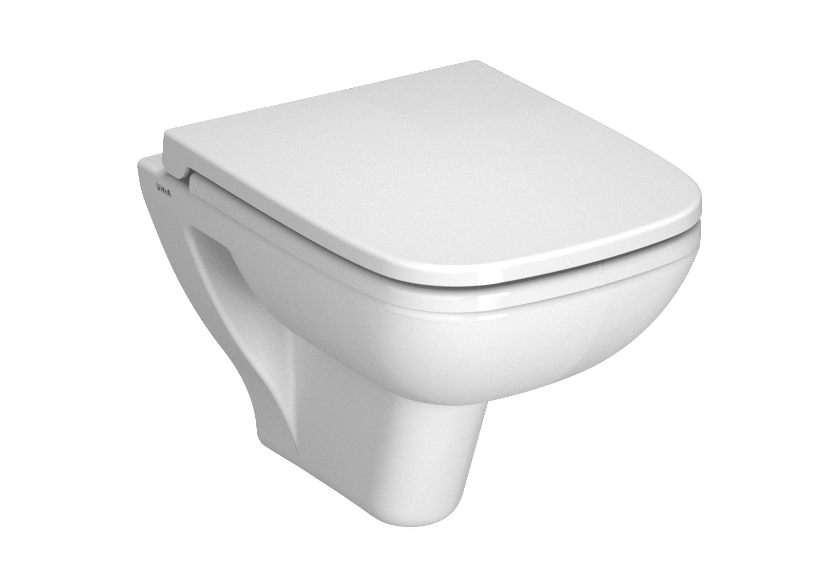 S20 Pack WC suspendu, 52 cm, abattant Duroplast, fermeture douce, blanc