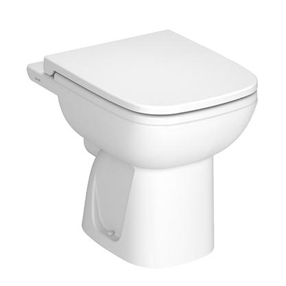 S20 Stand-WC Tiefspüler Abgang waagerecht Open Back, Weiß