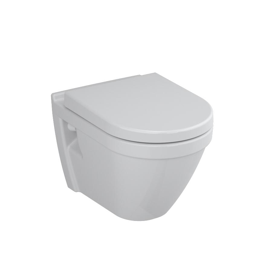 S50 Pack WC suspendu, 52 cm, abattant Duroplast, fermeture douce