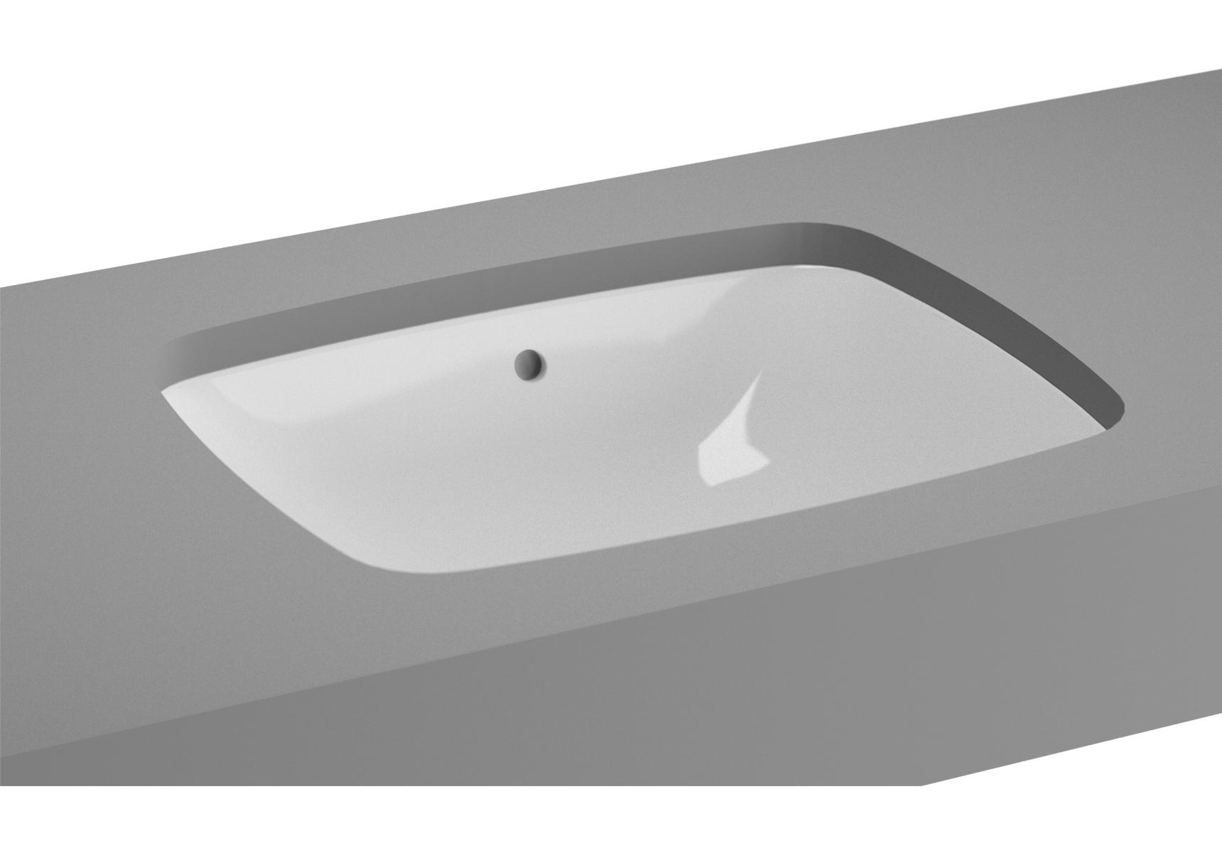 Metropole Unterbauwaschtisch, rechteckig, 50 cm