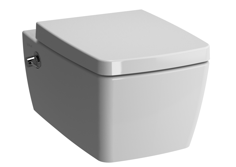 Metropole Wand-WC mit Bidetfunktion/Armatur