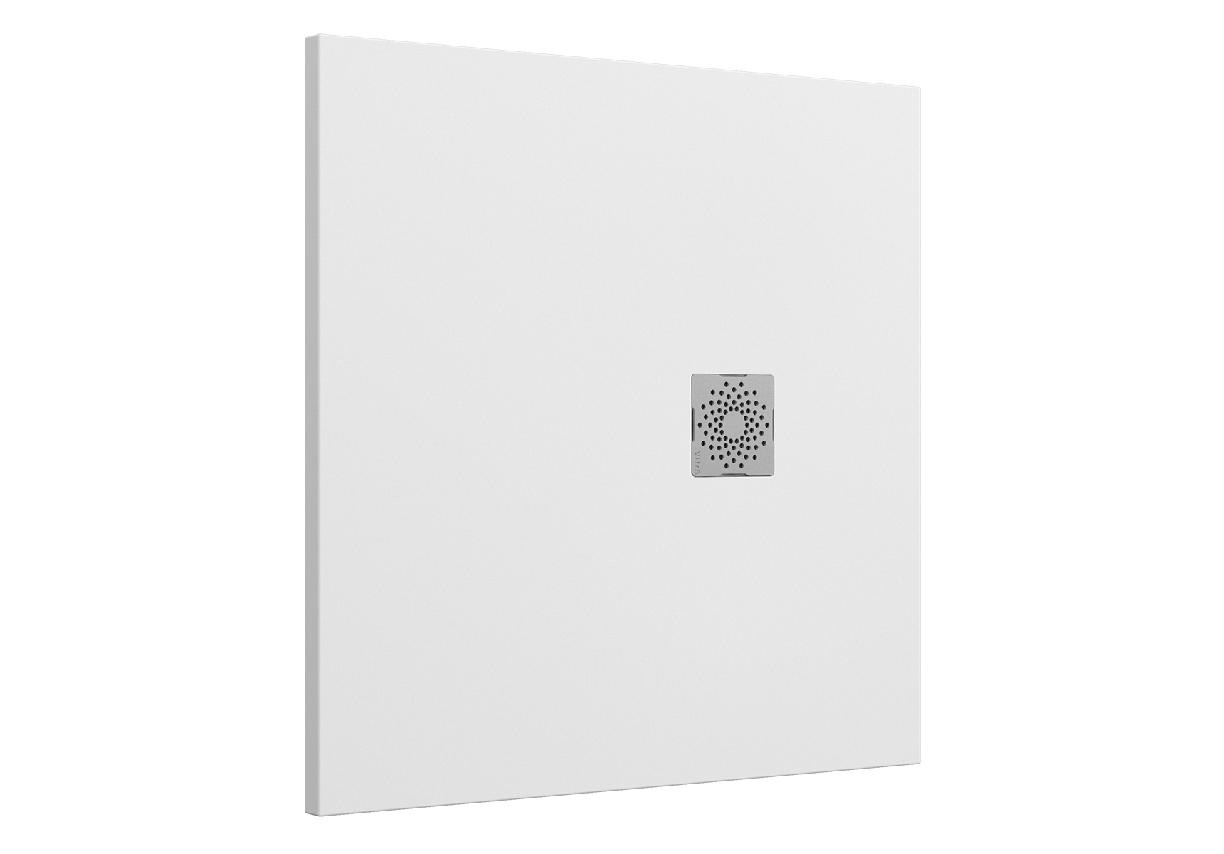 V-Stone Duschwanne, 90 x 90 cm, Weiß