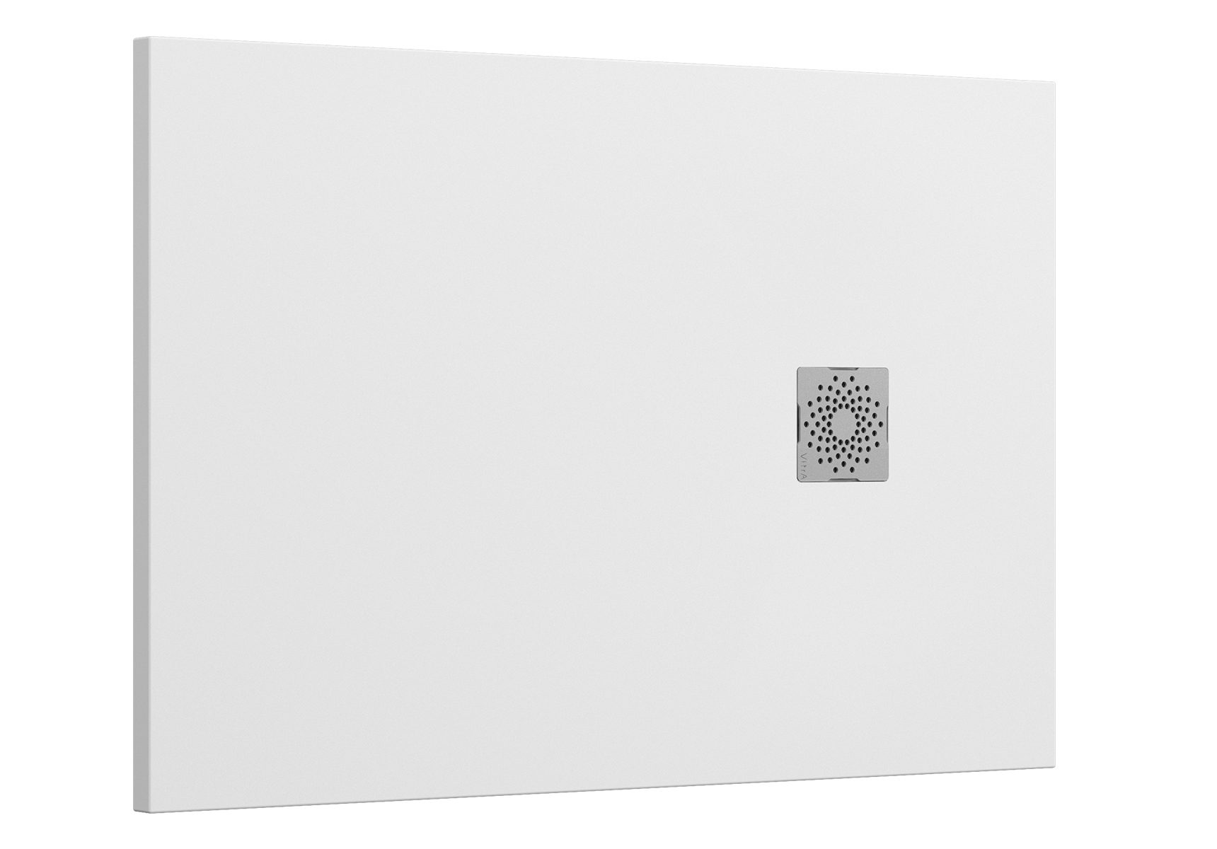 V-Stone Duschwanne, 120 x 80 cm, Weiß