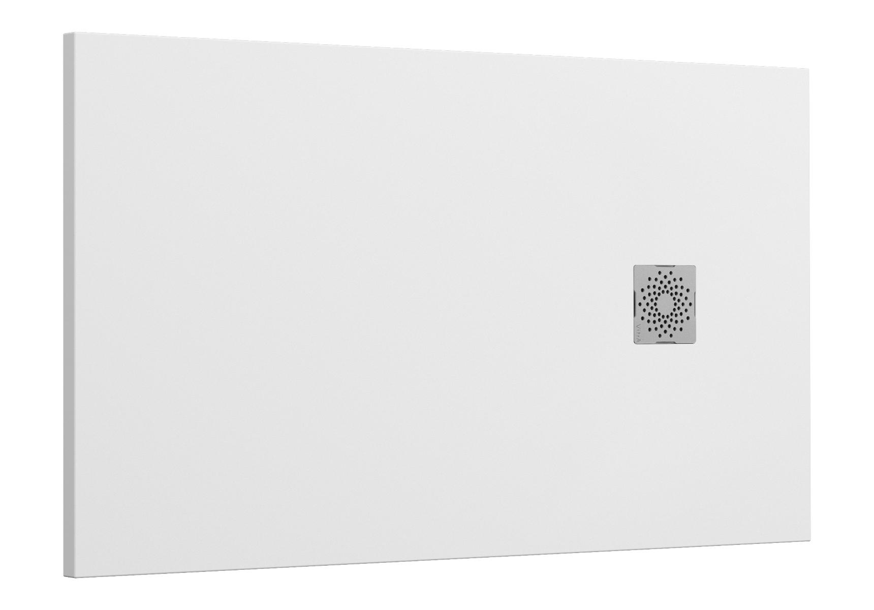 V-Stone Duschwanne, 140 x 80 cm, Weiß