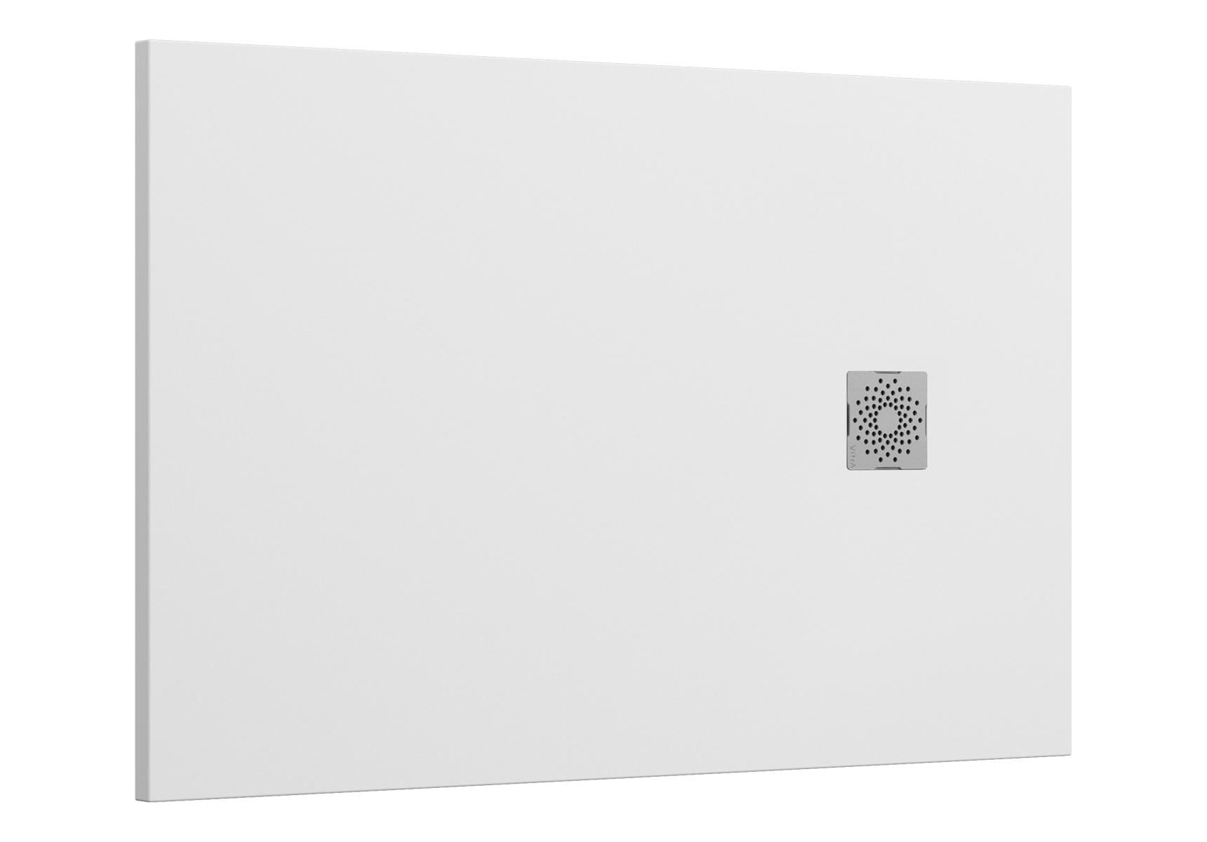 V-Stone Duschwanne, 140 x 90 cm, Weiß