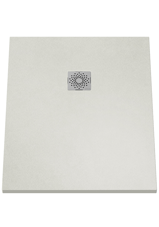 V-Stone Duschwanne, 100 x 80 cm, Grau