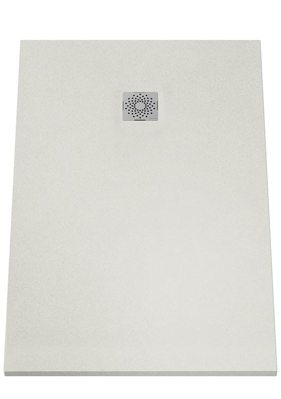 V-Stone Duschwanne, 140 x 90 cm, Grau