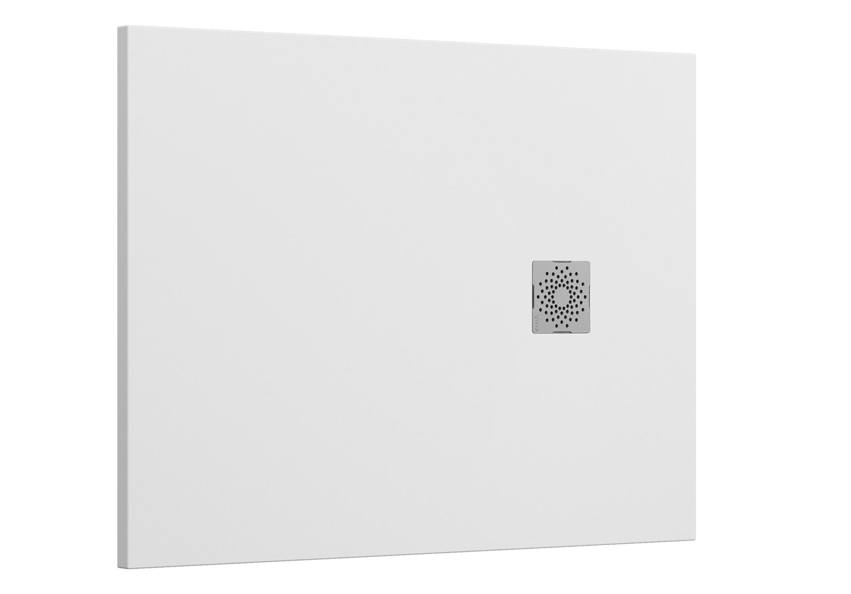 V-Stone Duschwanne, 120 x 90 cm, Anthrazit