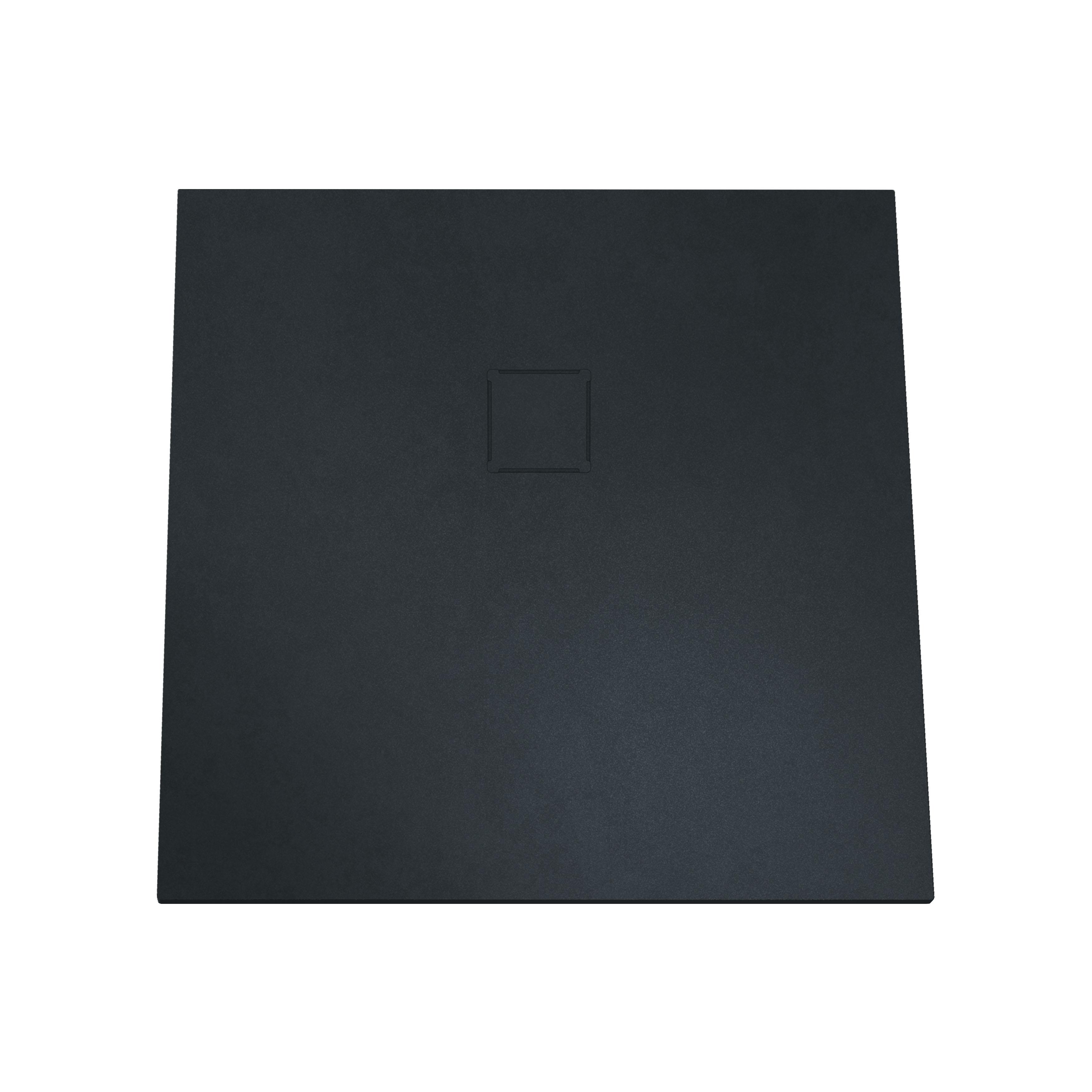 V-stone, receveur ultra plat en solid stone, 80 cm, anthraciteacite