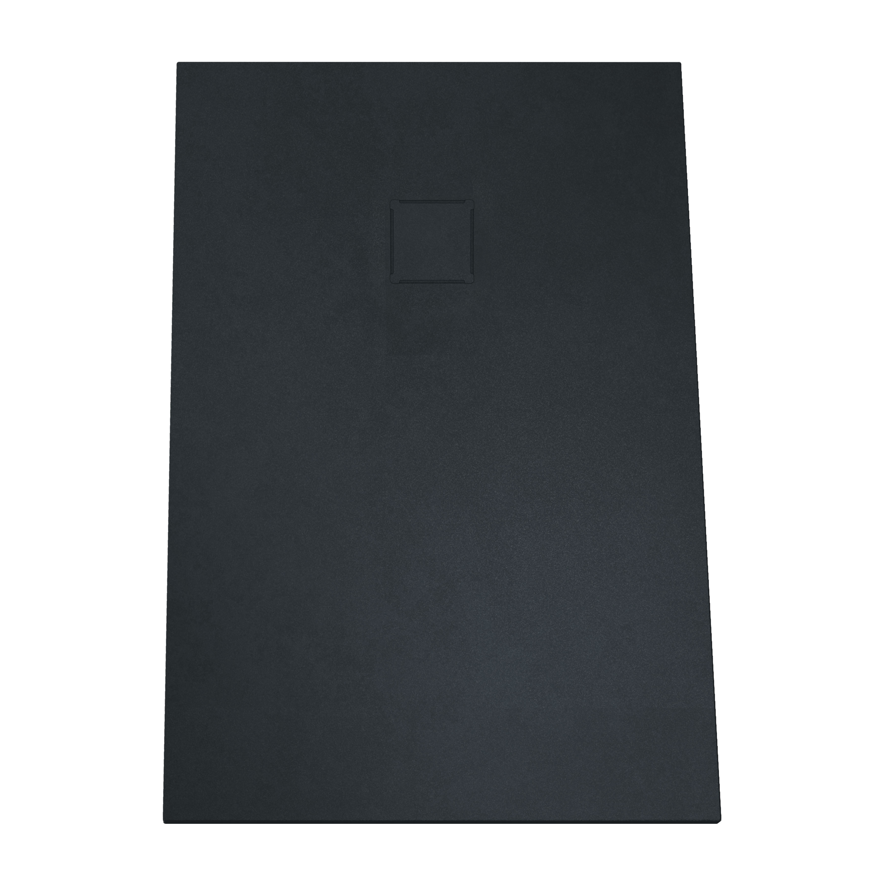 V-stone, receveur ultra plat en solid stone, 120  x  80 cm anthraciteacite