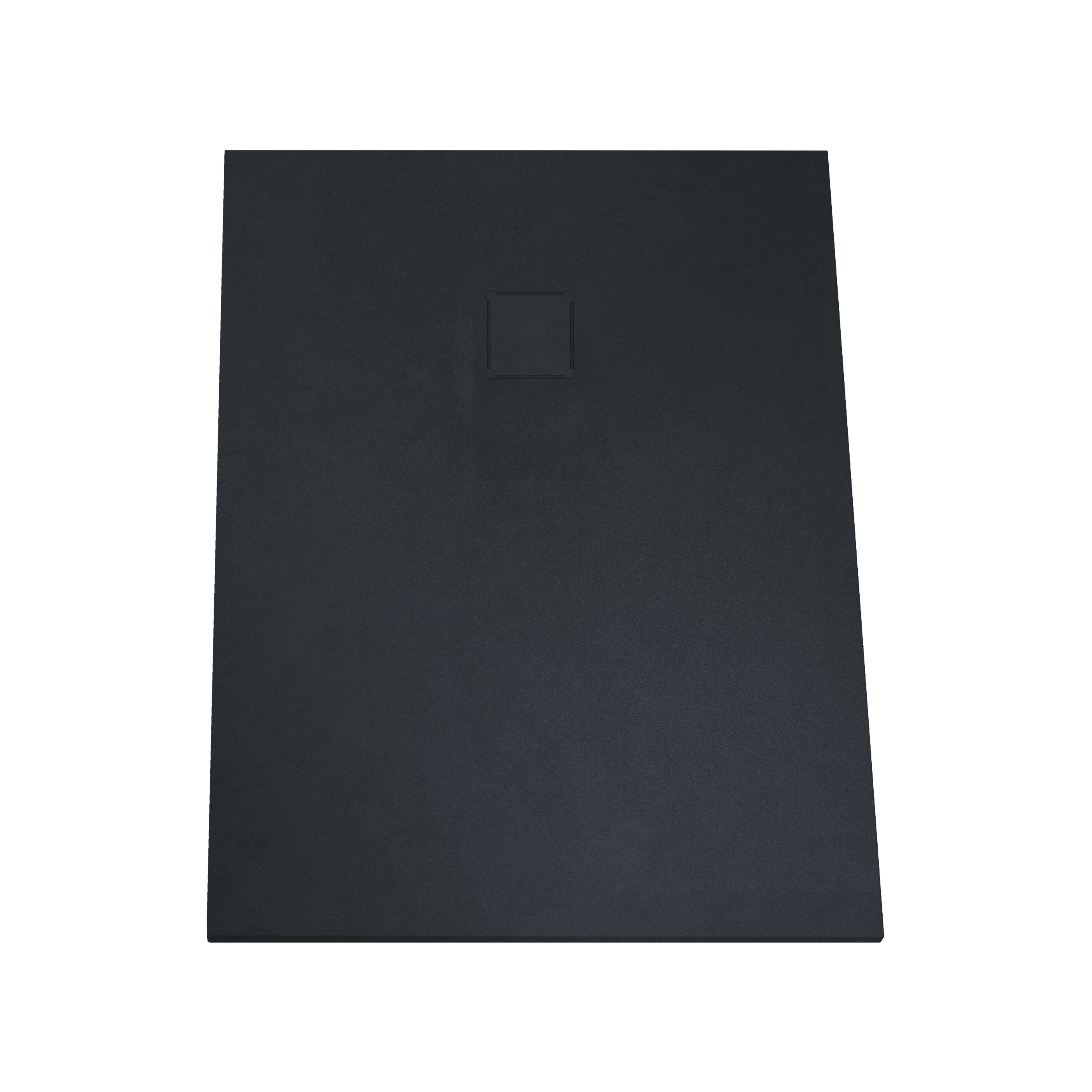 V-stone, receveur ultra plat en solid stone, 120  x  90 cm anthraciteacite