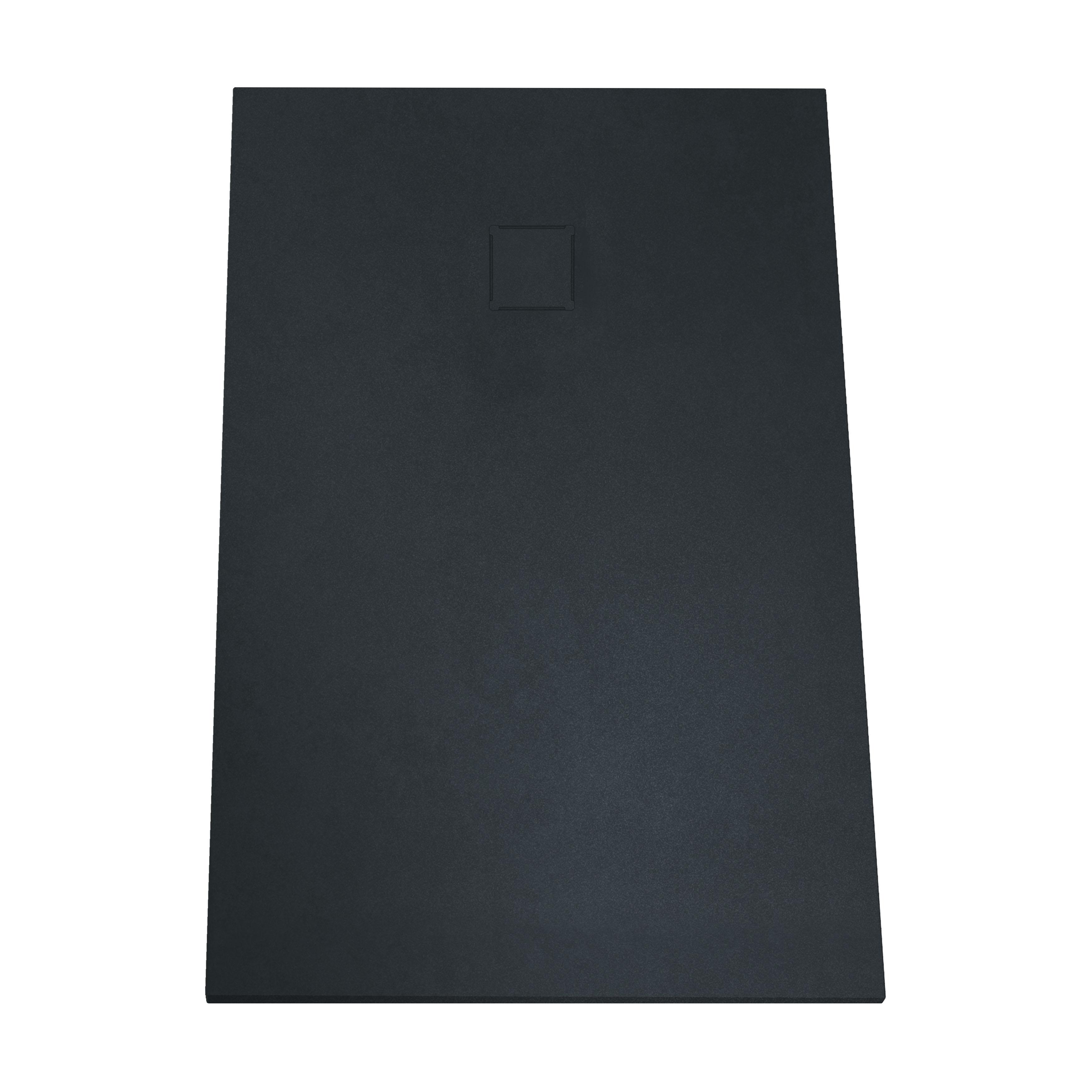 V-stone, receveur ultra plat en solid stone, 160  x  90 cm, anthraciteacite