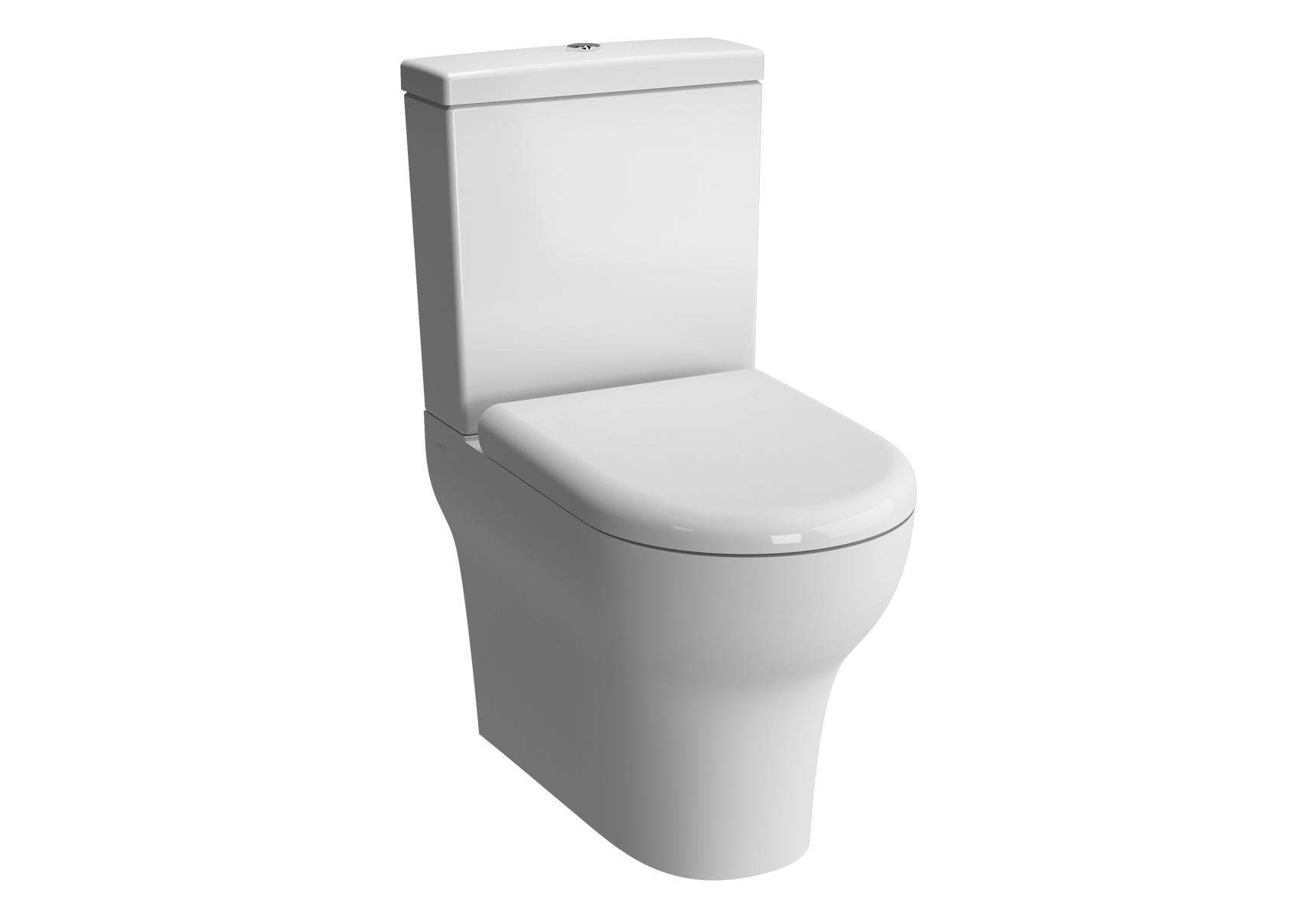 Zentrum WC à poser avec bride, BTW, 61 cm, sortie universel