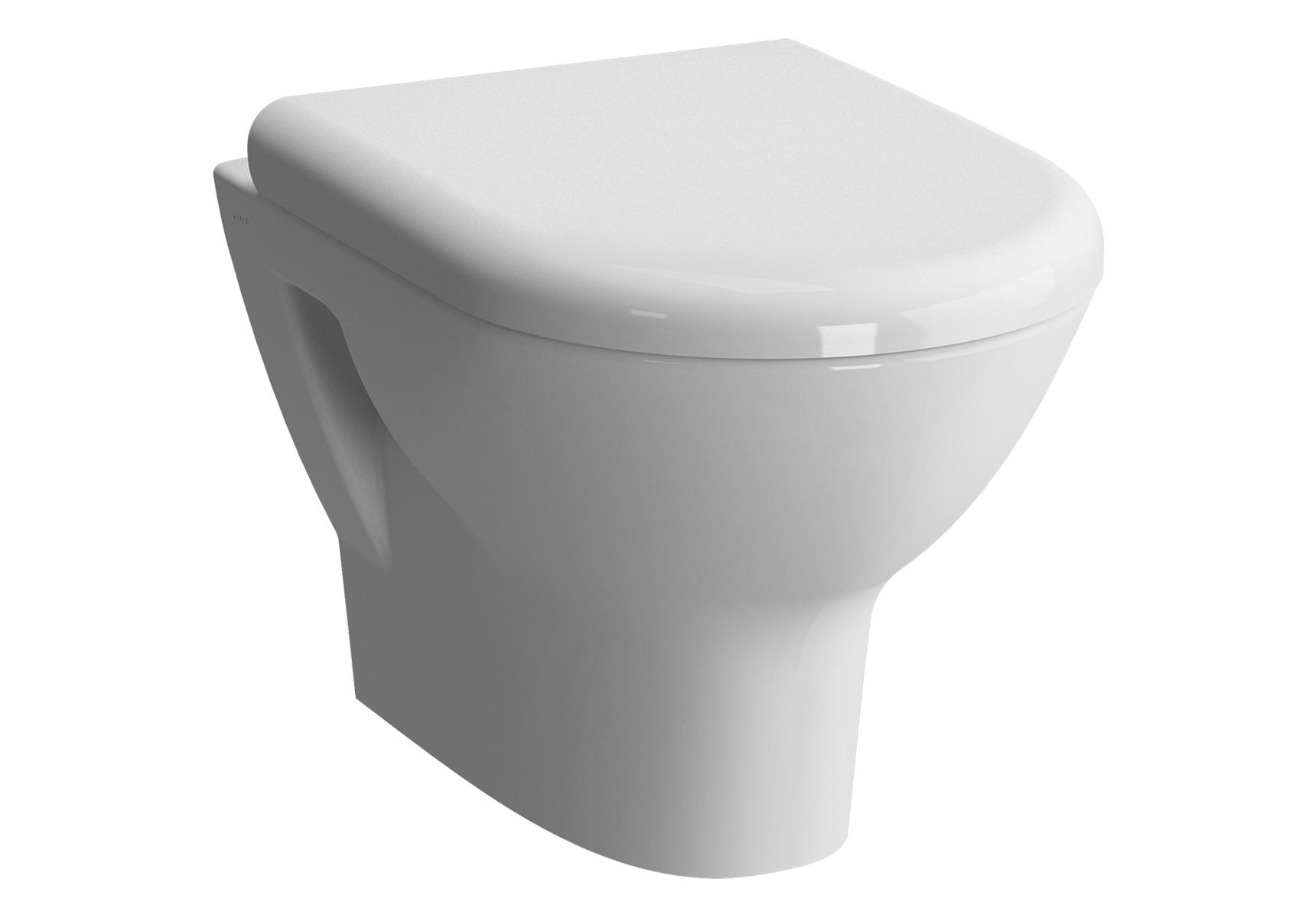 Zentrum Pack WC suspendu, 50 cm, abattant Duroplast, fermeture douce