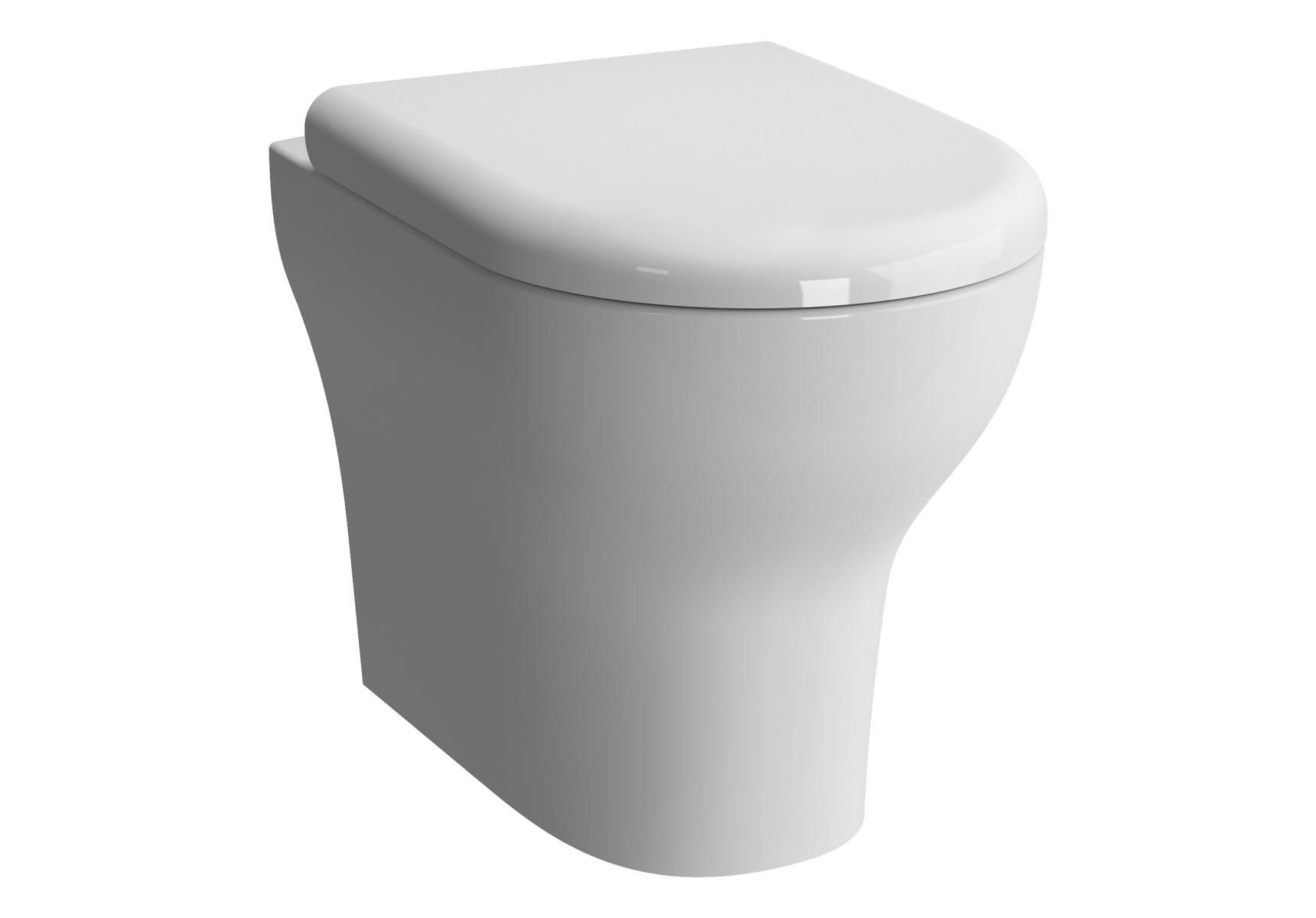 Zentrum WC à poser avec bride, 52 cm, S / H
