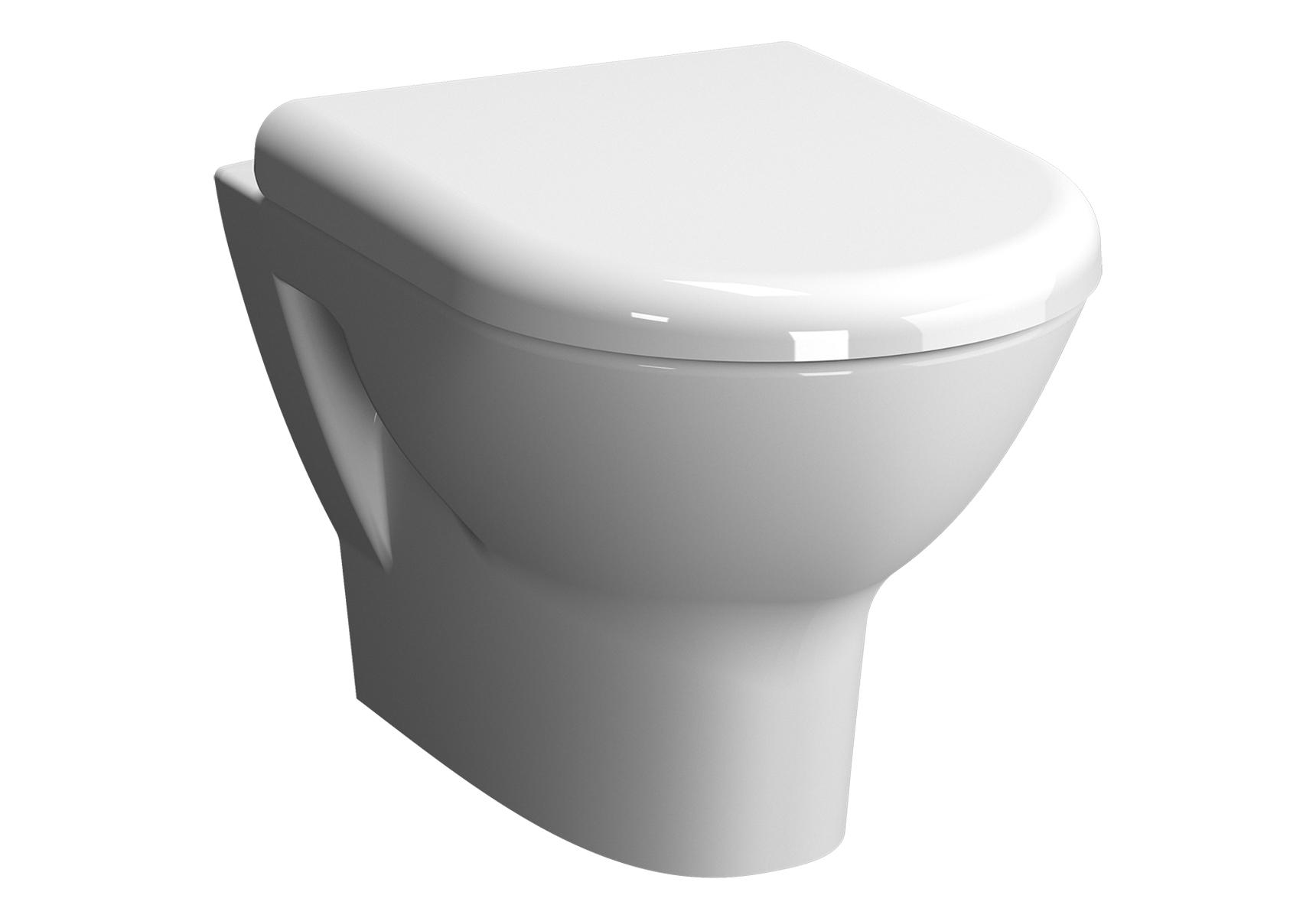 Zentrum Pack WC suspendu, 50 cm, abattant Duroplast