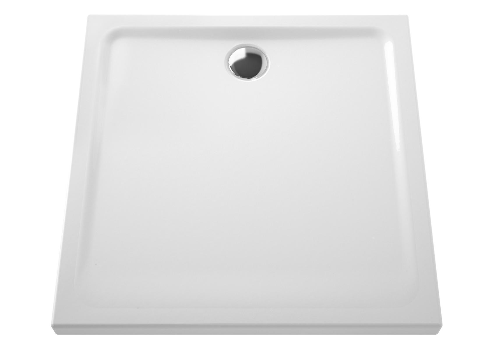 Arkitekt receveur à encastrer ou à poser extra plat, 90  x  90 cm