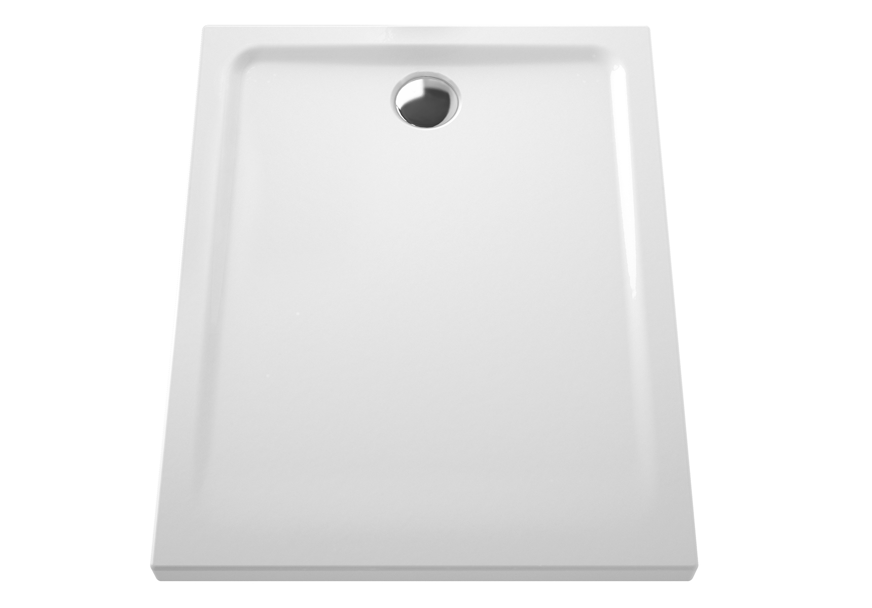Arkitekt receveur à encastrer ou à poser extra plat, 100  x  80 cm