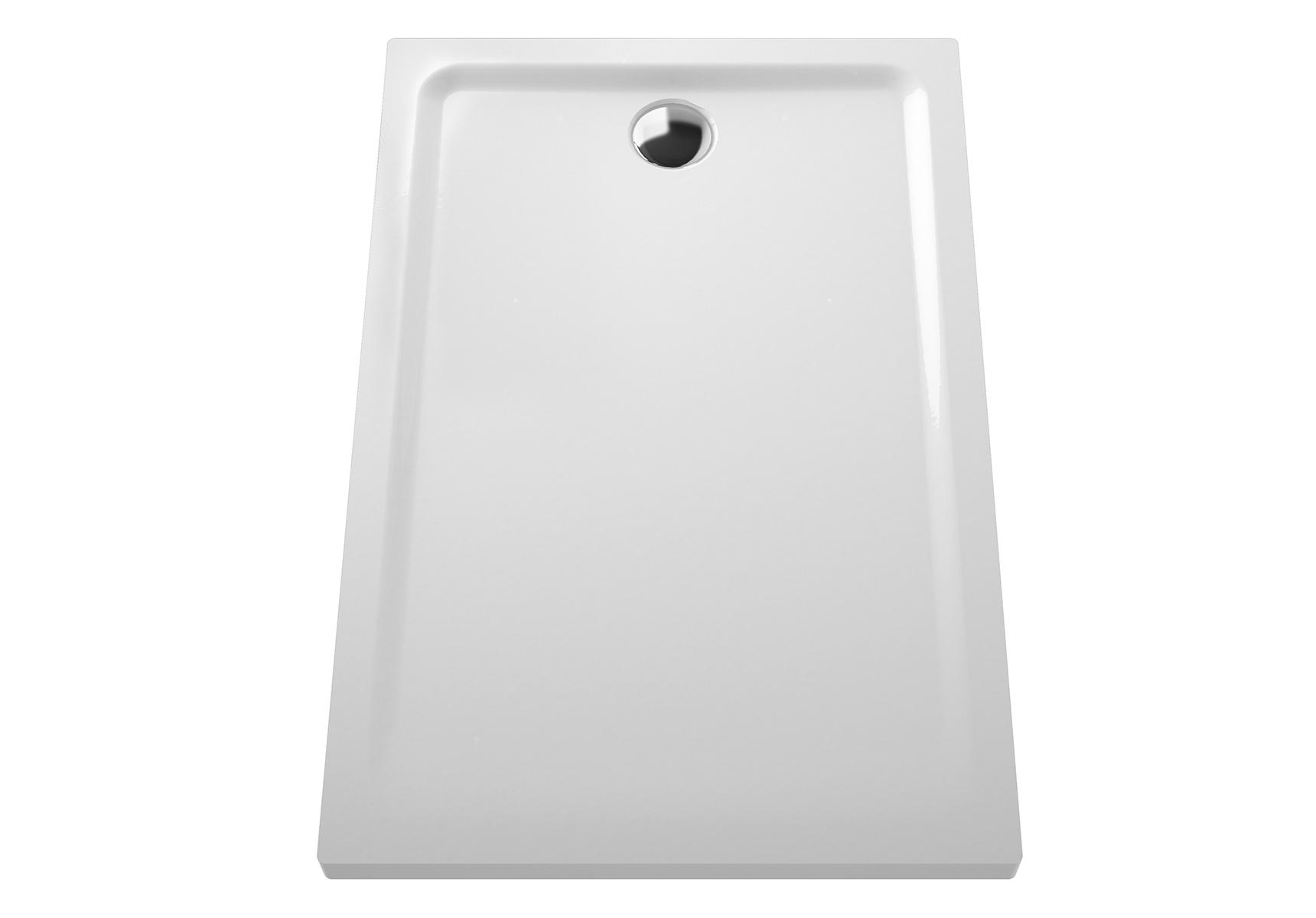 Arkitekt receveur à encastrer ou à poser extra plat, 120  x  80 cm