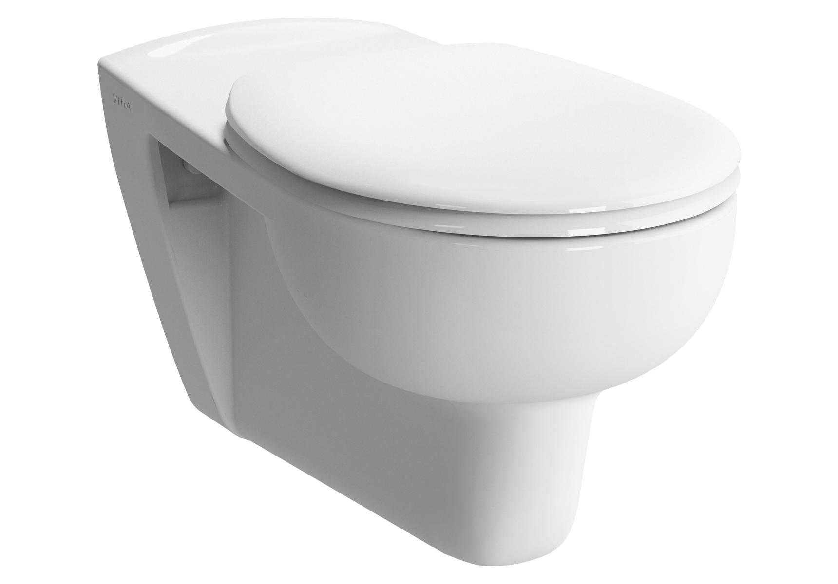 Conforma Pack WC suspendu, 70 cm PMR, abattant Duroplast