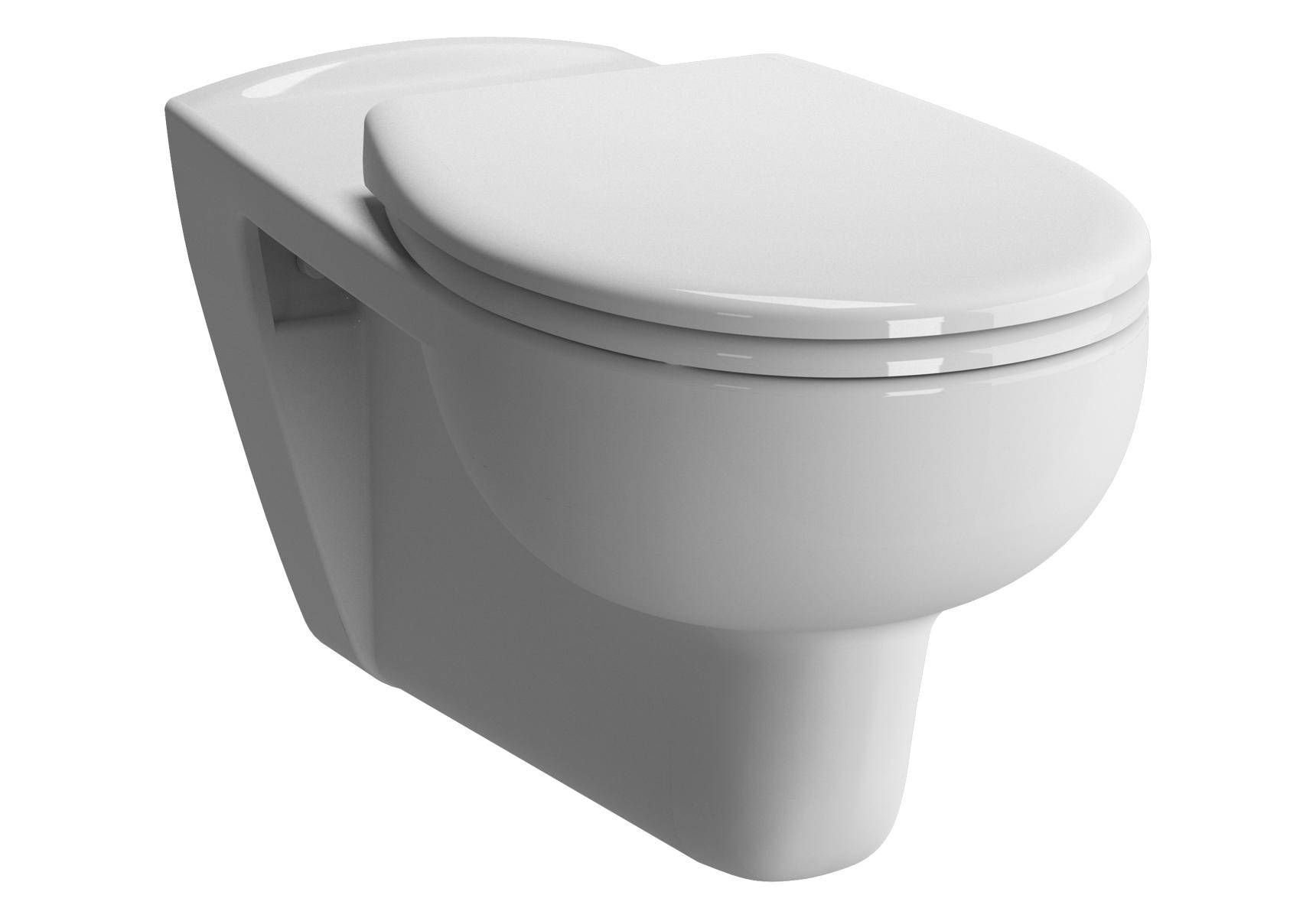 Conforma Wand-WC VitrA Flush mit Bidetfunktion, Weiß mit VitrA Clean