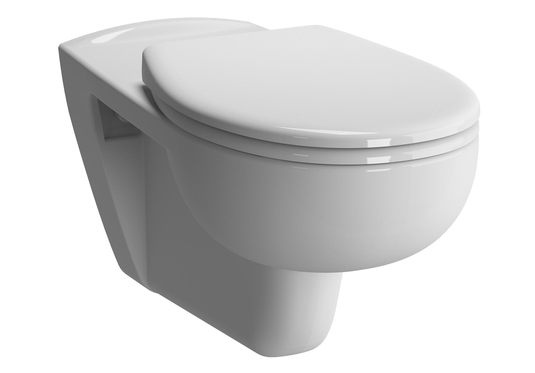 Conforma Pack WC suspendu PMR, 70 cm, abattant Duroplast