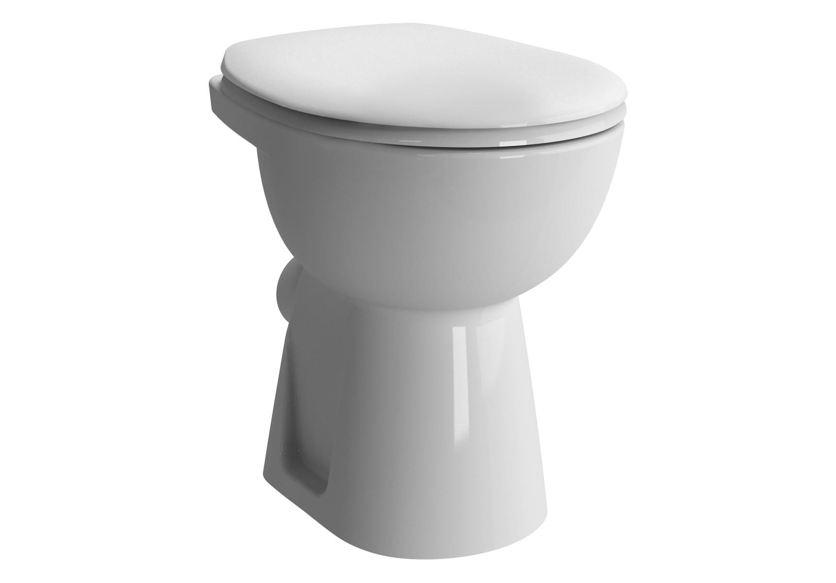 Conforma WC à poser avec bride, 48,5 cm, S / H