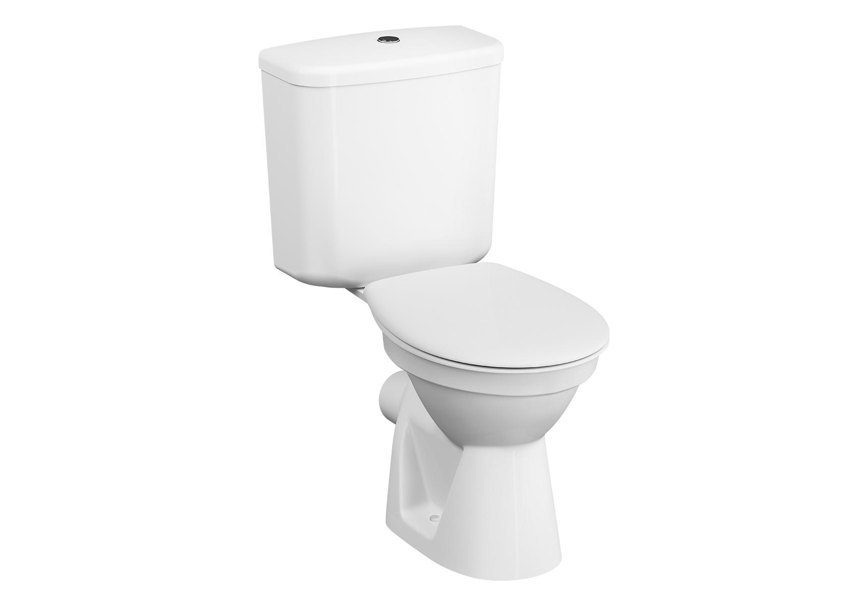 Conforma WC PMR à poser, 75 cm, open back