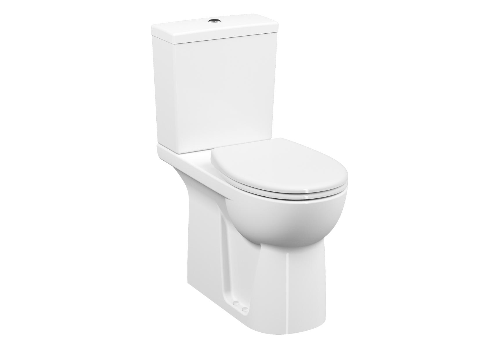 Conforma WC PMR à poser, 75 cm, fonction bidet, open back