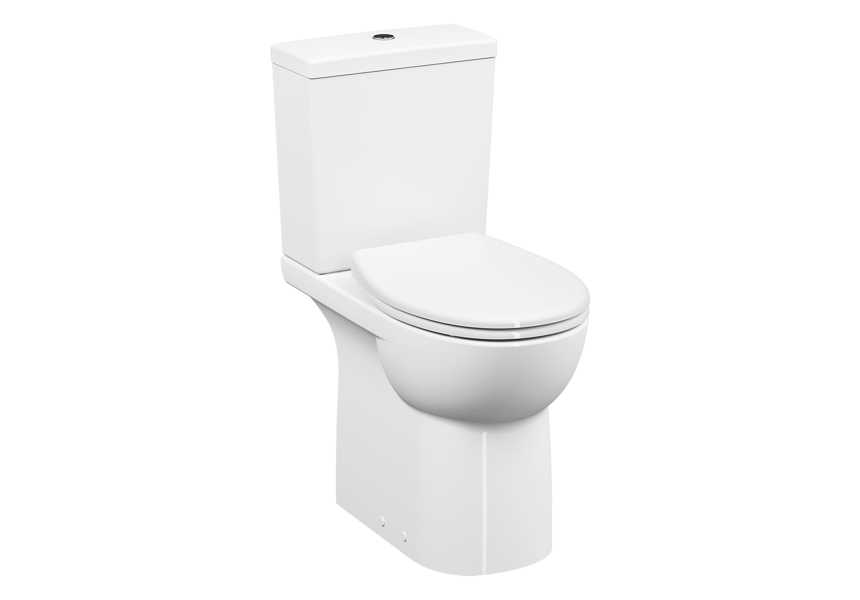 Conforma WC à poser, fonction bidet, open back, 65 cm