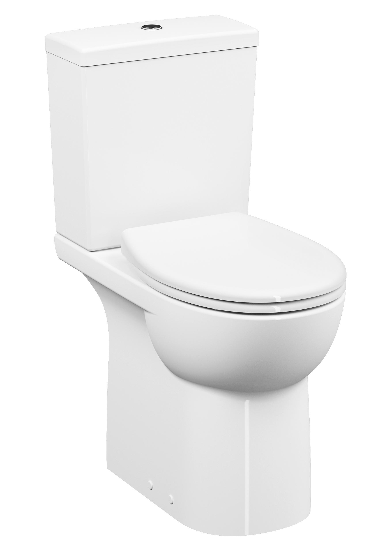 Conforma Stand-WC-Kombination, VitrA Flush 2.0