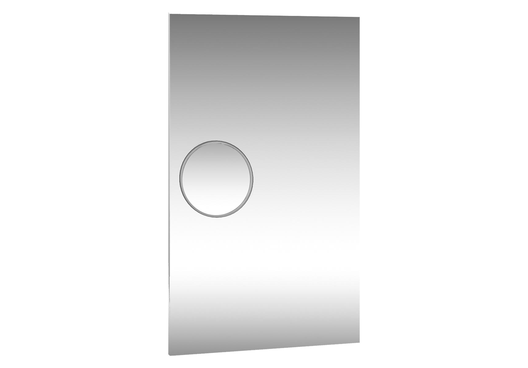 Memoria Elements miroir, avec miroir grossissant (magnétique), 40 cm, chromé, éclairage LED en haut et en bas, anti-buée