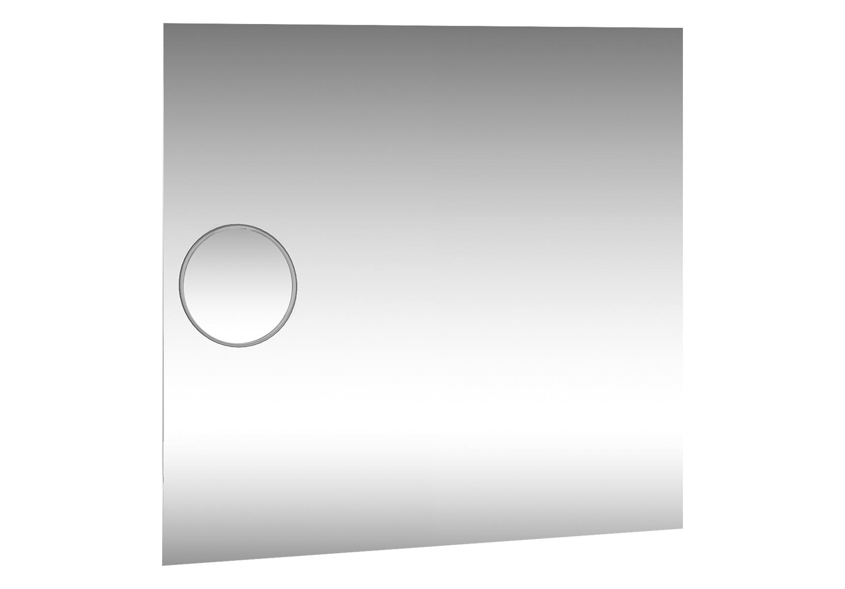 Memoria Deluxe miroir, 100 cm, avec miroir grossissant, avec éclairage haut et bas, avec commande de capteur