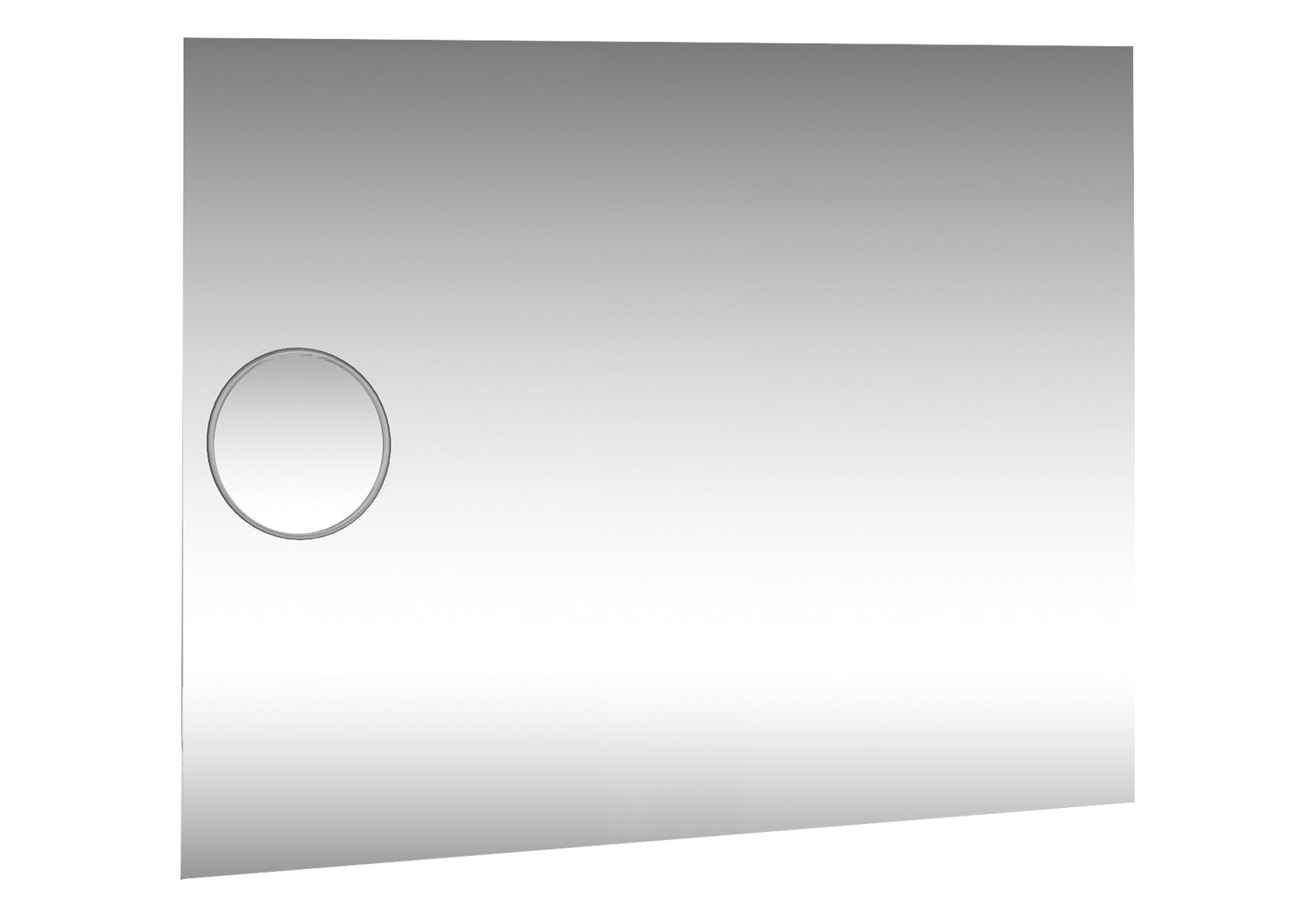 Memoria Deluxe miroir, 120 cm, avec miroir grossissant, avec éclairage haut et bas, avec commande de capteur