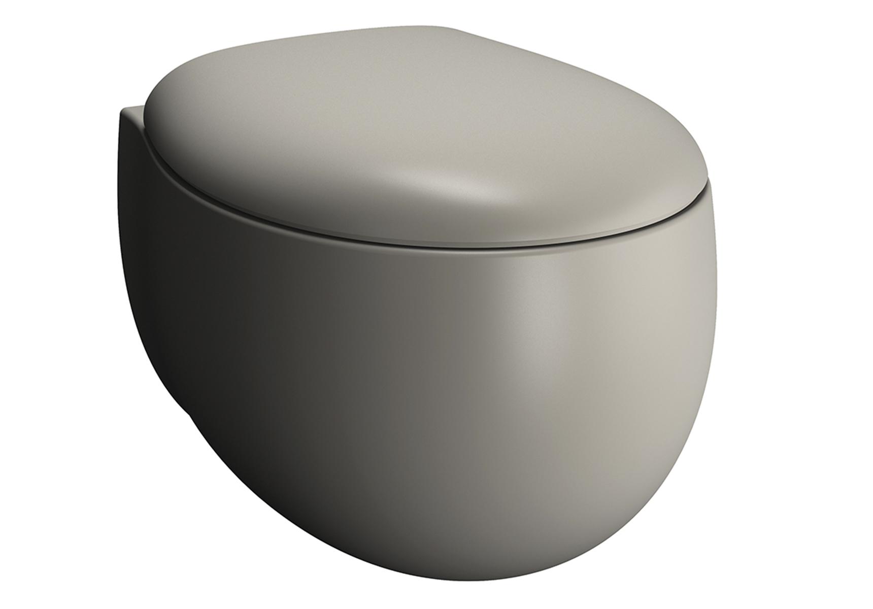 Memoria Black Wand-WC VitrA Flush 2.0, Taupe Matt
