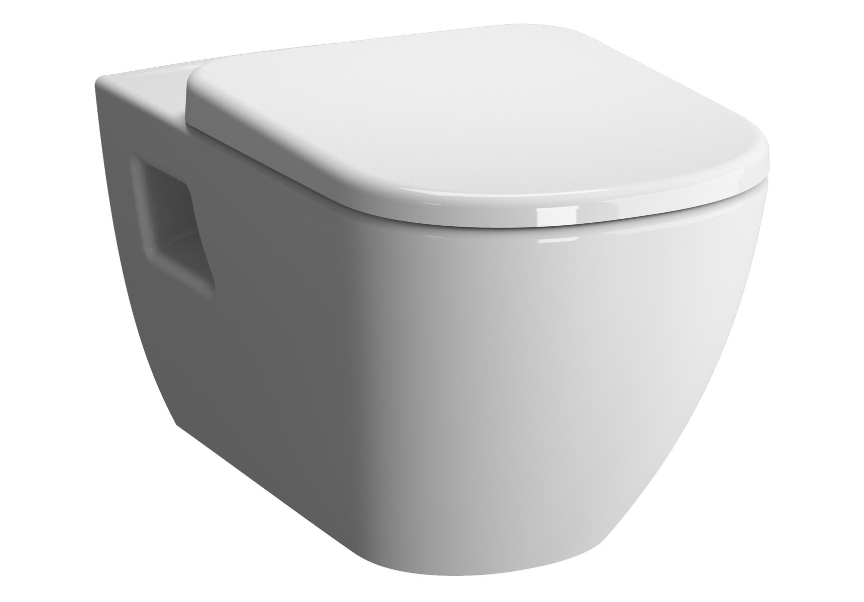 D-Light WC suspendu sans bride, 57,5 cm
