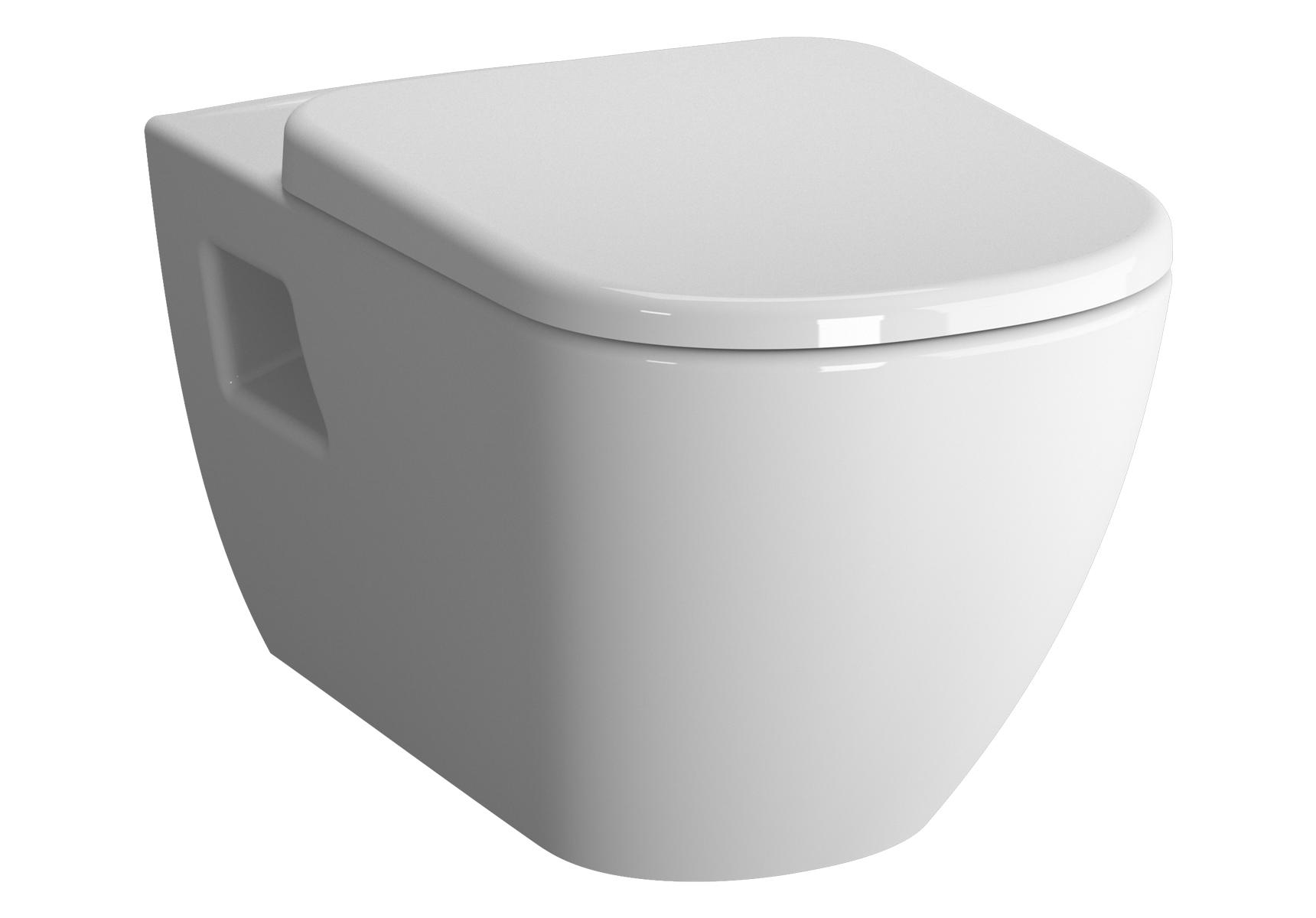 D-Light WC suspendu sans bride, 58 cm, avec fonction bidet